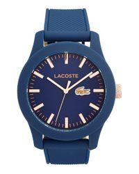 Lacoste - Blue '12.12' Watch for Men - Lyst