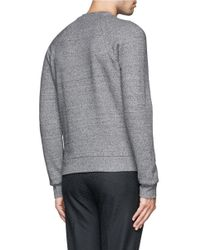 Paul Smith - Gray Raglan Sleeve Sweatshirt for Men - Lyst