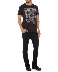 Label Lab | Black Amps Graphic Fit T-shirt for Men | Lyst
