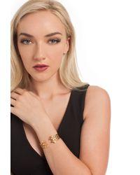 Trina Turk - Metallic Geo Cuff Hinge Bracelet - Lyst