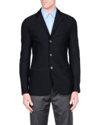 Giorgio Armani - Black Blazer for Men - Lyst
