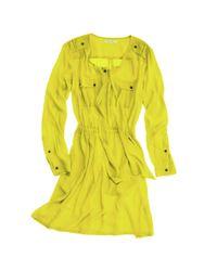 Madewell - Yellow Skyscraper Shirtdress - Lyst