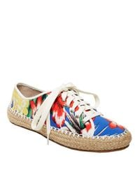 Steve Madden | Multicolor Broadwlk Espadrille Lace-up Sneakers | Lyst
