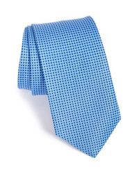 Eton of Sweden - Blue Woven Silk Tie for Men - Lyst