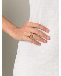Aurelie Bidermann | Metallic 'apache' Ring | Lyst