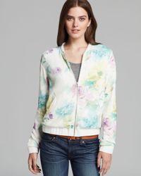 Dolce Vita   Multicolor Jacket Wylan Soft Floral Knit Bomber   Lyst