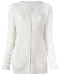 Forte Forte - White Chunky Knit Sweater - Lyst