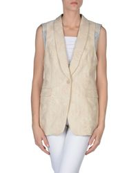 Dries Van Noten - Natural Blazer - Lyst