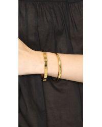 Gorjana - Metallic Bali Cuff Bracelet - Gold - Lyst