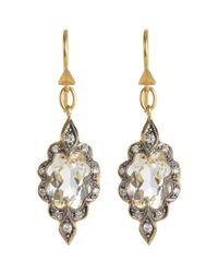 Cathy Waterman | Metallic Women's Arabesque Earrings | Lyst