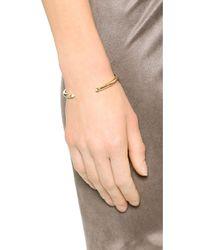 Elizabeth and James | Metallic Obi Bangle Bracelet | Lyst