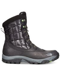 The North Face | Black Men's Waterproof Thermoball Utility Boots for Men | Lyst