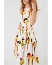 Lyst - Dolce   Gabbana Ice Cream Dress in White 24735af83