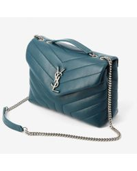 Saint Laurent - Green Loulou Small Bag - Lyst