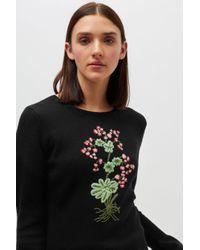 Altuzarra - Black Bovary Knitted Sweater - Lyst