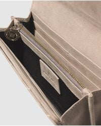 Gloria Ortiz - Natural Taupe Wallet With Space For 12 Cards - Lyst