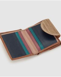 El Corte Inglés - Brown Leather Wallet With Double Compartment - Lyst