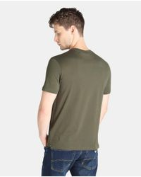 Armani Jeans - Short-sleeve Green T-shirt for Men - Lyst