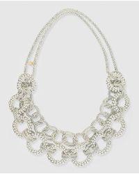 Gloria Ortiz | White Links Necklace | Lyst