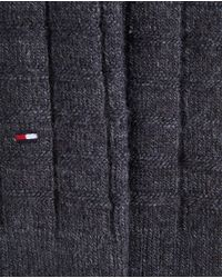Tommy Hilfiger - Gray Short Grey Socks for Men - Lyst
