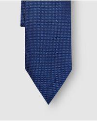Mirto - Blue Jacquard Silk Tie for Men - Lyst