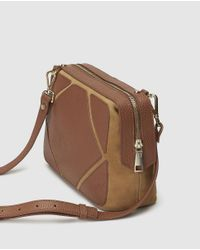 b197840ec2 Gloria Ortiz Patty Small Camel-coloured Leather Crossbody Bag in ...