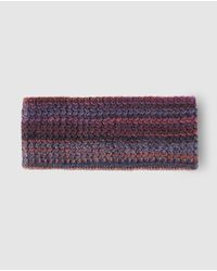 El Corte Inglés - Purple Multicoloured Knitted Hairband - Lyst