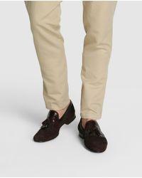 Magnanni Shoes - Magnani Brown Suede Moccasins for Men - Lyst