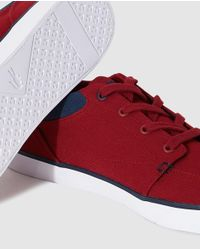 Lacoste - Red Lace-up Shoes for Men - Lyst
