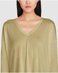 Polo Ralph Lauren   Natural Long Khaki T-shirt   Lyst