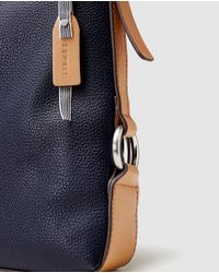 Esprit - Wo Navy Blue Crossbody Bag With An Adjustable Strap - Lyst