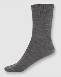 Punto Blanco - Gray Short Grey Socks - Lyst