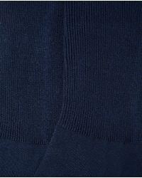 Punto Blanco - Blue Relaxed-top Socks for Men - Lyst