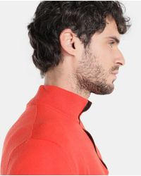 Polo Ralph Lauren - Ralph Lauren Polo Red Polo Neck Wool Sweater for Men - Lyst