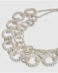 Gloria Ortiz - White Links Necklace - Lyst
