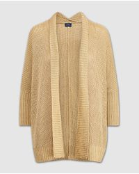 Polo Ralph Lauren - Natural Beige Cardigan With French Sleeves - Lyst