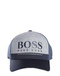 Lyst - BOSS Athleisure Cappello Con Visiera E Logo in Blue for Men d71c2e41583d