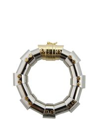Lanvin | Metallic Brass Bangle | Lyst