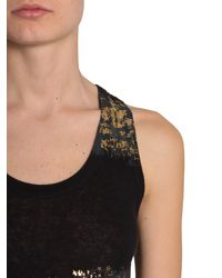Haider Ackermann - Black Ribbed Montivipera Tank Top - Lyst
