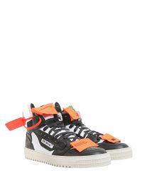 """Off-White c/o Virgil Abloh - Black Sneaker Alta """"off-court 1"""" for Men - Lyst"""