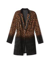 Elie Tahari   Black Pam Coat   Lyst