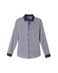 Elie Tahari   Blue Wilson Shirt for Men   Lyst