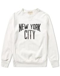 Remi Relief | White New York City Crew Sweat for Men | Lyst
