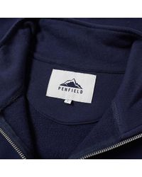 Penfield - Blue Hosmer Zip Neck Sweat for Men - Lyst