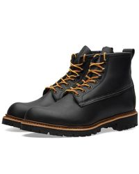 "Red Wing - Black 2930 Heritage Work 6"" Ice Cutter Boot for Men - Lyst"