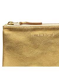Comme des Garçons - Metallic Comme Des Garcons Sa8100g Gold Wallet - Lyst