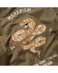 Maharishi - Green Adder Tour Jacket for Men - Lyst