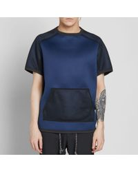 Adidas - Blue X Kolor Short Sleeve Neoprene Crew Sweat for Men - Lyst