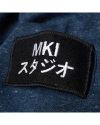 MKI Miyuki-Zoku - Blue Arm Badge Sweat for Men - Lyst