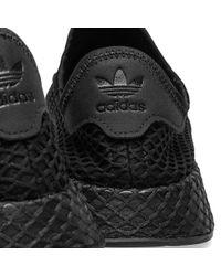 Adidas Black Deerupt Runner - Size 12 for men